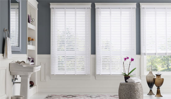 50mm Wooden Basswood Window Shutter Curtain
