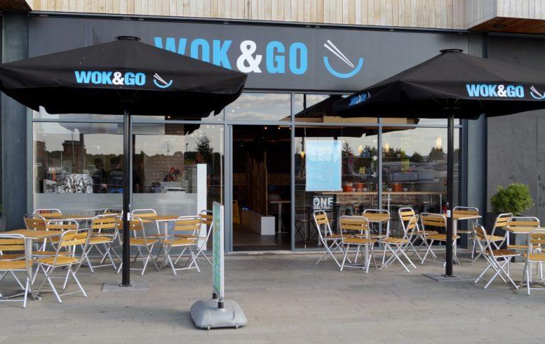 Wok Go Shop Front, Altus Contractors