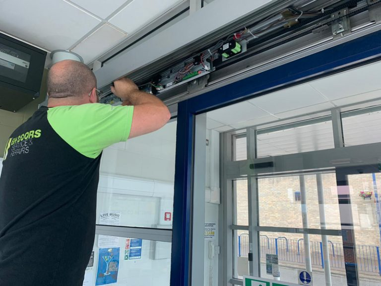 Automatic Glass Door Repair Suffolk