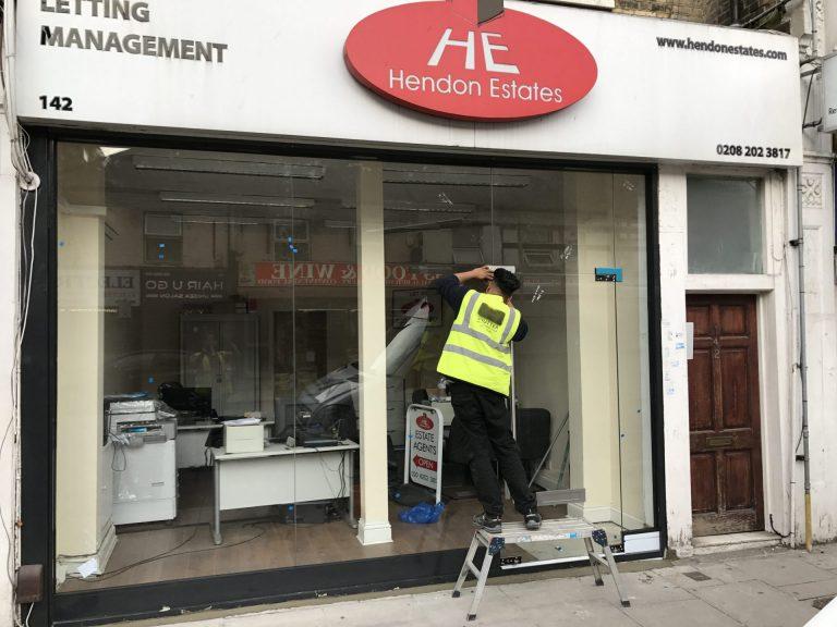 Toughened Glass Shopfront