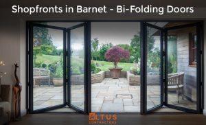 Shopfronts in Barnet - Bi-Folding Doors