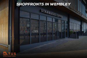 Shopfronts in Wembley